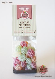Fruities contain only natural, gluten and dairy free ingredients. Select fruit extracts such as raspberry, lemon and woodruff give this candy a mixed variety of tangy flavour. Dairy Free, Gluten Free, Hard Candy, Natural Flavors, Candies, Raspberry, Lemon, Treats, Fruit