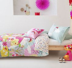 Kas Kids Fiesta Friends Quilt Cover Set Range Multi