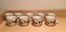 Poole Pottery New England Teacup Leaf Pattern   | eBay