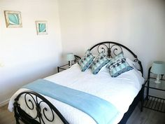 DejaBlu Beach Apartment - DejaBlu is a lovely holiday apartment located on the third floor inside Seaside Village, a stylish lifestyle centre with 24-hour security and two secure parking bays. It has modern finishes with double ... #weekendgetaways #bigbay #capemetropole#blaauwberg #southafrica #travel #selfcatering