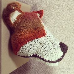 Welsh Corgi #あみぐるみ#amigurumi#knit#動物#animal#doll#handmade#yarn#toys#crochet#knittingneedle#craft#Welsh Corgi by habujun_knit