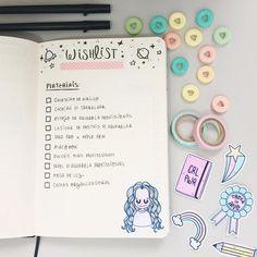 """521 curtidas, 11 comentários - Bullet Journal And More (@bujomore) no Instagram: """"Qual sua lista de desejos do ano ? Que tal tirar os planos de papel e fazer tudo acontecer? É pra…"""""""