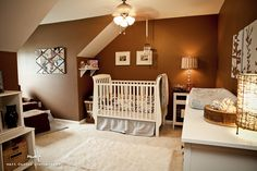 this nursery is just too cute and natural...bff is thinking about this ;)