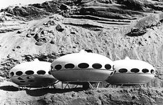 Finnish architect Matti Suuronen took a stab at pod-like housing with the Futuro House, designed in 1968. The success of the project was thwarted by poor public reception, and fewer than 100 of the prefab structures were completed by the time the house was taken off the market in the mid 1970s.