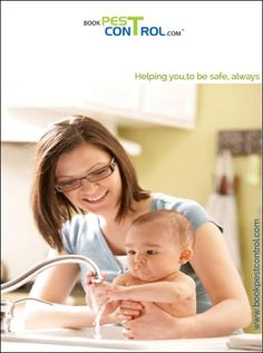 let your baby have hygiene  #bookpestcontrol