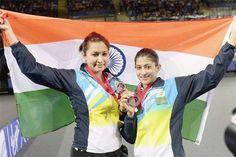 Ashwini Ponnappa and Jwala Gutta Won Silver For CWG 2014