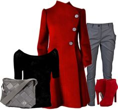 """Winter Work Wear"" by shannon-story on Polyvore"