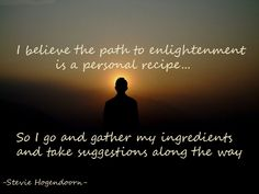 It's a personal Journey #elightenment #path #journey