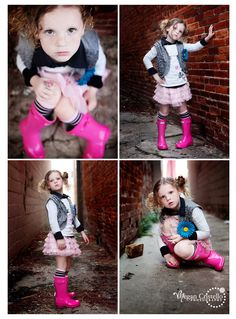 I want to photograph a little girl that will rock rain boots and a tutu!
