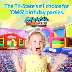 Give your child a jaw-dropping birthday party!
