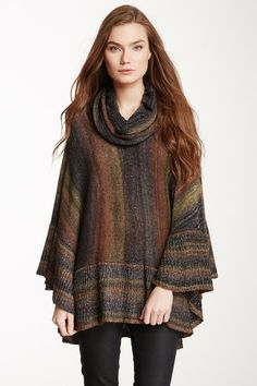Sisters Sweaters on HauteLook - Shimmer Poncho $69.00