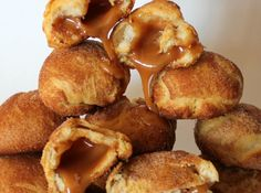 Yum... I'd Pinch That! | Caramel Crescent Snickerdoodles