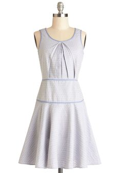 Cartographer's Dream Dress: After mapping out the Trans-Atlantic adventure of a lifetime, slip into this pastel blue dress and gather supplies for your upcoming voyage!...