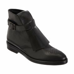 Roberto Del Carlo Covered Placket Ankle Boot at Barneys.com