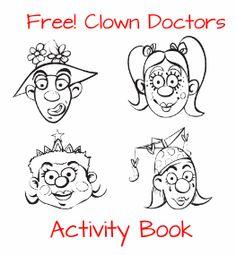 #Free Downloadable #Clown Doctors #Activity #Book #free #freebie #kids #diy #craft #art #fun Circus Crafts, Fun Crafts, Clown Doctors, Craft Art, Circus Party, Kids Diy, Free Samples, Book Activities, Carnival