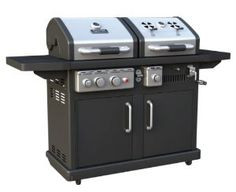 Dyna-Glo DGP700SSB-D Dual Fuel LP/Charcoal Outdoor Grill Review. You can find more products just like this! @ www.ghpgroupinc.com