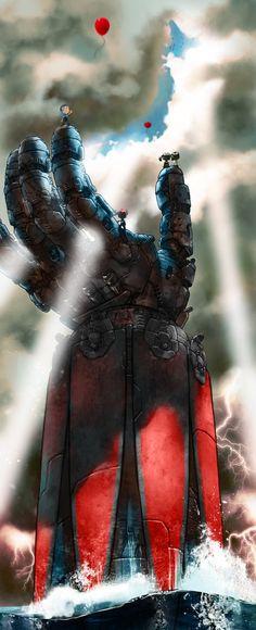 Grendizer by Kanthesis on DeviantArt Manga Anime, Manga Art, Transformers, Robot Cartoon, Japanese Superheroes, Super Robot, Animation, Fantastic Art, Sci Fi Fantasy