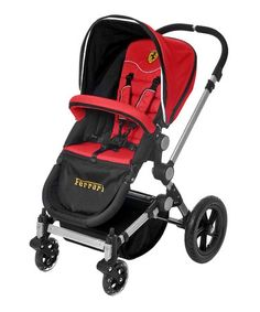 Free Shipping! Combi Ferrari Dream Booster in Black With Storage Bag Brand New