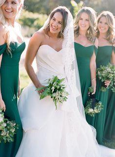 An Elegant Emerald Green and Black Wedding at the Vintage Estate Emerald Green Weddings, Wedding Day, Elegant, Wedding Dresses, Image, Black, Fashion, Pi Day Wedding, Classy