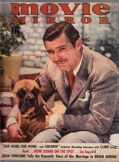 Clark Gable - Movie mirror magazine