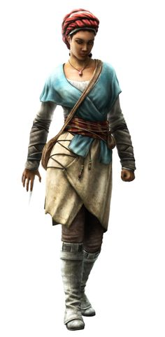 Aveline de Grandpré - Slave outfit (Assassin's Creed: Liberation - 2012) #assassinscreed #aveline