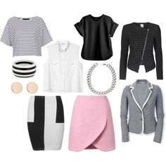"""Outfits prendas básicas"" by mafer-cisneros on Polyvore"