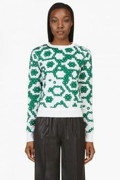 Jw Anderson for Women Collection Christmas Sweaters, Sweatshirts, Blouse, Green Fashion, Stuff To Buy, Shopping, Collection, Tops, Women
