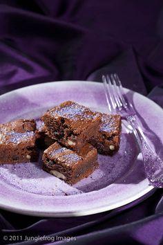 Lavendel brownie