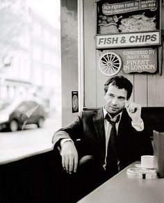 James Purefoy....this man has more charm in his pinky than most men have in their entire body