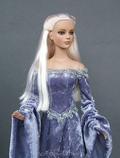 About Vanessa: Winter Whisper Sydney in medieval gown by my and my mom