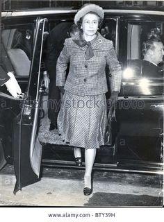 Queen Elizabeth II Visits Fleet Street associated Newspapers London 1976