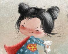 Little hero by Susan Batori, via Behance