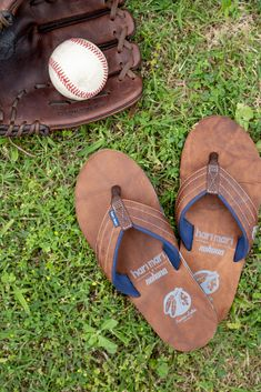 There's no better ball glove than a Nokona. There's no better flip flop for a baseball fan. Most Comfortable Flip Flops, Best Flip Flops, Chiefs Logo, Native American Print, Baseball Gloves, Rubber Sandals, Desert Boots, Leather Gloves, Your Shoes