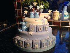 Christening Cake for Joe Stanley Potts