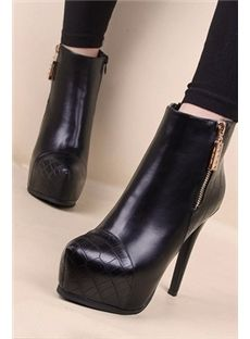 Sexy Stiletto Heels Platform Ankle Shoes