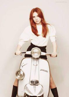 Scooter Girl #lambretta