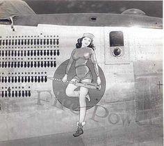 "B-24 Liberator - ""Fire Power""."