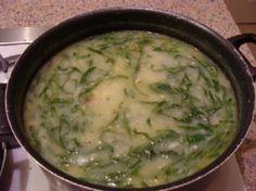 pot of caldo verde