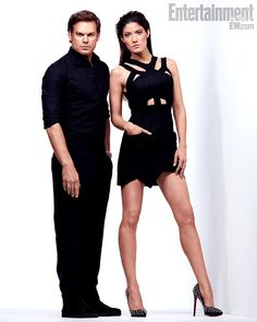 Michael C Hall and Jennifer Carpenter- Season 8 Promo Pic!
