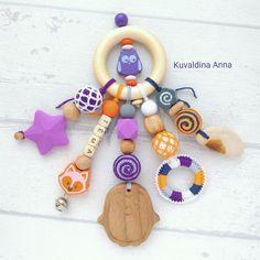 Купить Развивающая именная игрушка-погремушка-грызунок Зоопарк - погремушка, именная погремушка, развивающая игрушка