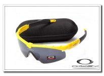 cheap fake Oakley m frame sunglasses yellow   black iridium Wholesale  Sunglasses c35977d183e