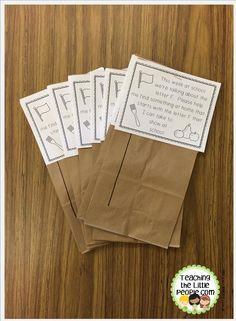 We have been using these Letter of the Week Show and Tell bags recently in our Early Childhood Special Education classroom.