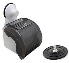 Blackcell-Suction-Cup-Waterproof-Roll-Holder-Toilet-Paper-Holder-black