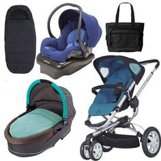 Quinny Buzz 3 Complete Collection - Blue *** Continue to the product at the image link. (This is an affiliate link) Baby Stroller Accessories, Car Seat Accessories, Baby Car Seats, Baby Strollers, Image Link, Blue, Collection, Baby Prams, Prams