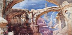 James Gurney — Dinotopia: Land Apart from Time