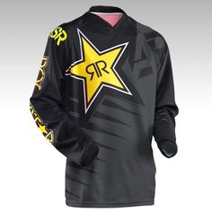 2016 ANSWER Rock Star Moto Jersey MX MTB Off Road Mountain Bike DH Bicycle Jersey DH BMX Motocross jersey 3 styles