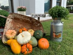 We're all decked out for fall! Stop by our visitor center and heritage museum for more fun fall displays