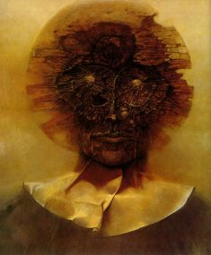 Yet again: A great piece by zdzislaw beksinski.