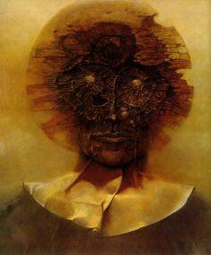 Yet again: A great piece by zdzislaw beksinski.