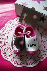 Wooden shoes for Yara